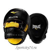 Лапы Everlast Pro Elite Leather Mantis черный
