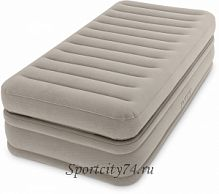 Надувная кровать Intex Prime Comfort Elevated Airbed 64444