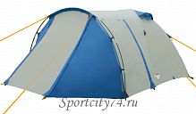 Палатка Campack Tent Breeze Explorer 4 серо-синяя